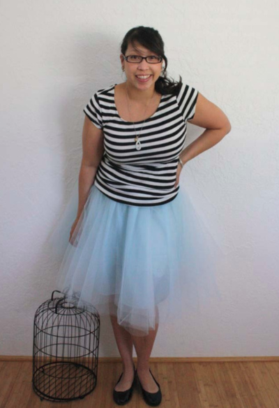 Twirly Tulle Skirt Tutorial