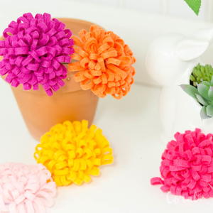 How to Make a Perfect DIY Chrysanthemum Felt Flower