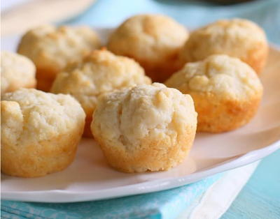 3-Ingredient Sour Cream Biscuits