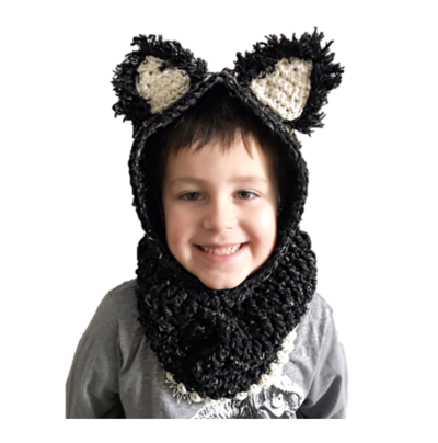 Crochet cat ears - Free patterns and tutorials - Crochet Now | 404x400