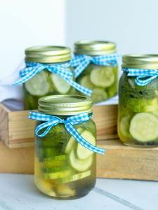 Best-Ever Refrigerator Dill Pickles