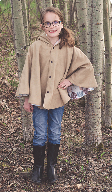 Awesome Autumn Childrens Cape Tutorial