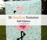 36 Sizzling Summer Quilt Patterns
