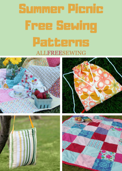 Summer Picnic Free Sewing Patterns