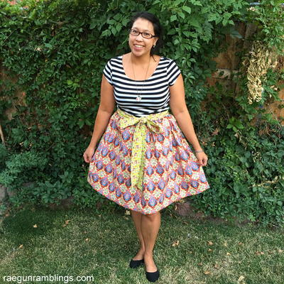 Elastic Apron Skirt Tutorial