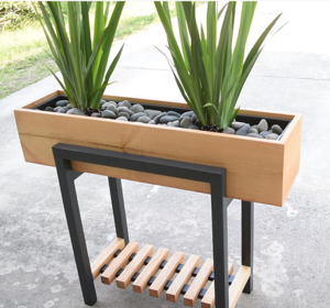Diy Raised Planter Box Cheapthriftyliving Com