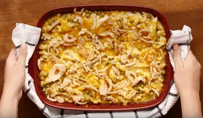 Thanksgiving Leftover Mac and Cheese