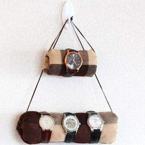 DIY No-Sew Hanging Watch Holder