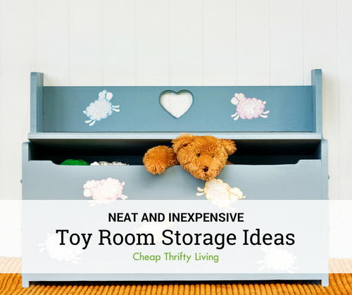13 Toy Room Storage Ideas