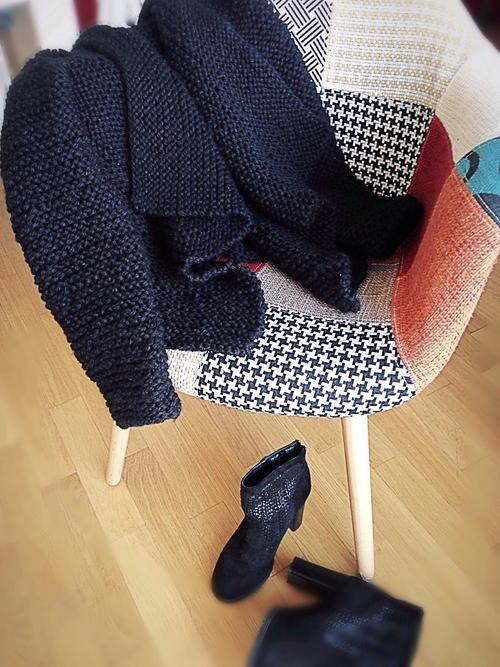 67d82e544 Knit Blanket Cardigan