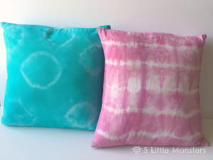 DIY Tie-Dye Pillow Tutorial