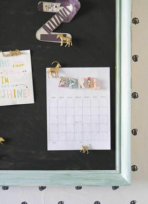 Diy Magnetic Board Cheapthriftyliving Com