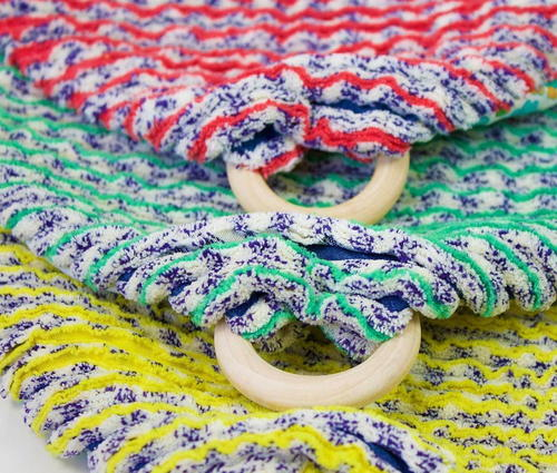 Chenille Teething Baby Blanket Tutorial