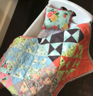 Doll Patchwork Quilt Pattern