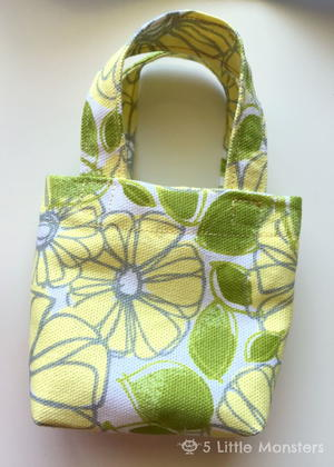 Doll Tote Bag Pattern