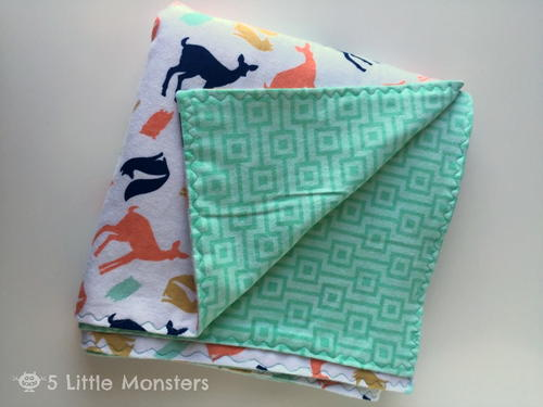 Flannel Baby Blanket Pattern