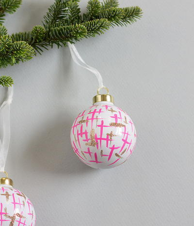 Mod 60s Inspired DIY Ornaments