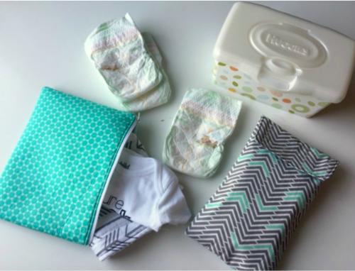 Diaper Clutch and Zippered Pouch Sewing Patterns