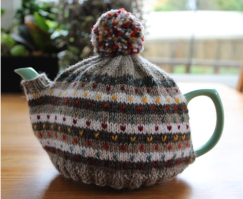 Stripes and Dots Teapot Cozy