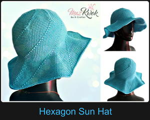 Hexagon Sun Hat