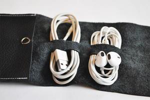 Posh Leather Diy Cord Organizer Allfreesewing Com