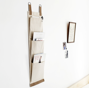 Minimalist DIY Magazine Holder | AllFreeSewing com