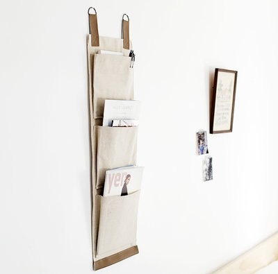 Minimalist DIY Magazine Holder