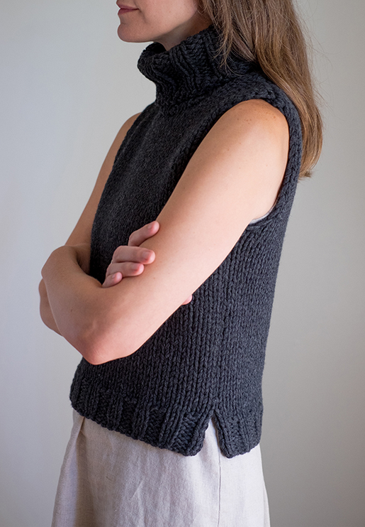 Sloper Sleeveless Sweater