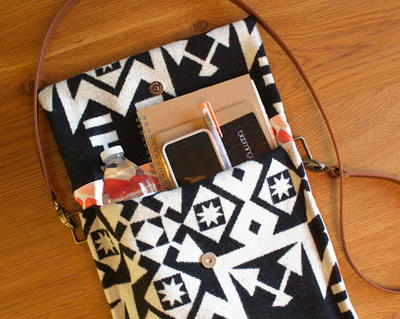 Compact Crossbody Purse Pattern