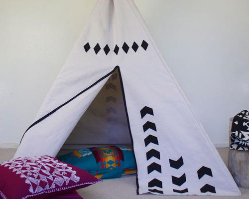 DIY Teepee Play Tent Pattern