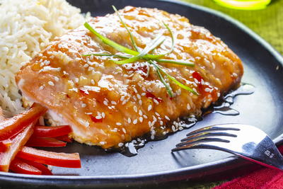 Thai Roasted Salmon