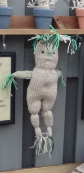 Harry Potter Knitted Mandrake