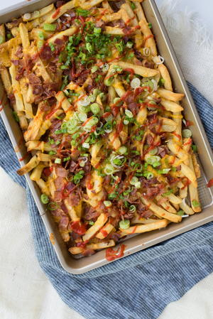 Irresistible Texas Cheese Fries