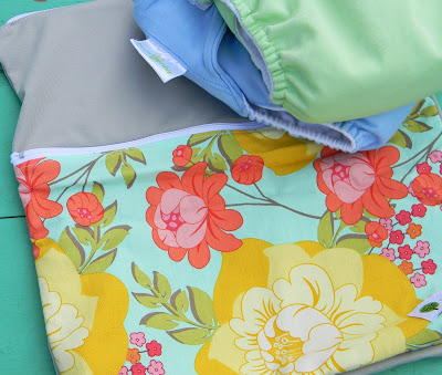 DIY Cloth Diaper Wet Bag