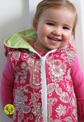 Kids' Hooded Vest Pattern