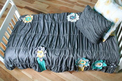Anthropologie-Inspired DIY Toddler Comforter