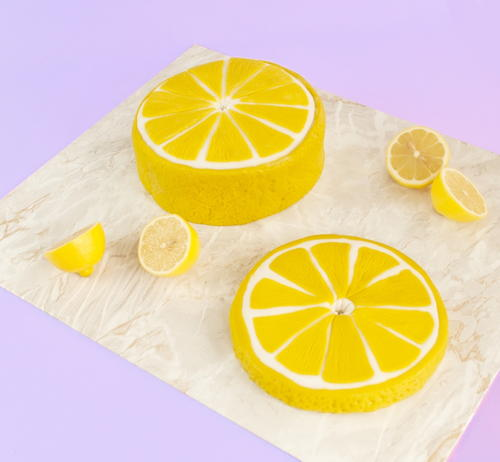 Cute Lemon Slice Cake Tutorial