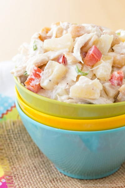 Easy Tropical Chicken Salad