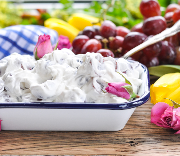3-Ingredient Grape Salad