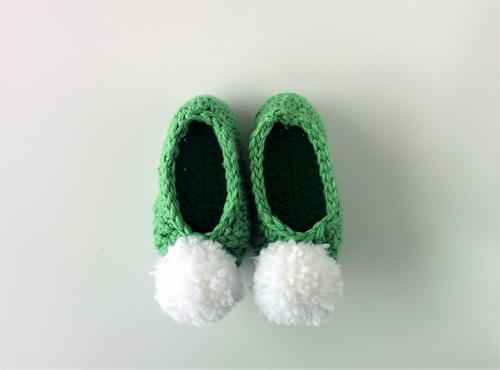 Fairy Slippers Baby Booties