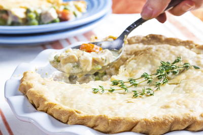Impressive Chicken Pot Pie