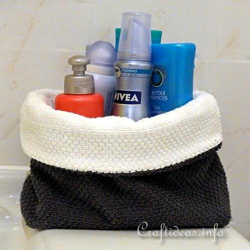 Hand Towel Bathroom Baskets