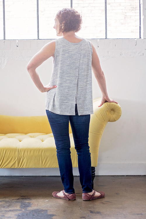 Cross Back Tank Free Pattern