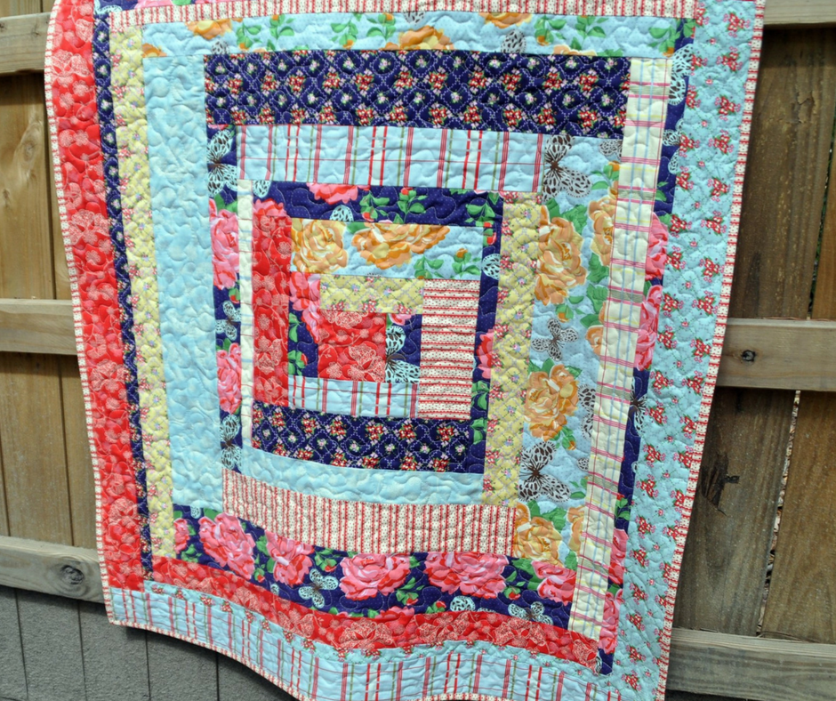 38 Free Log Cabin Quilt Patterns | FaveQuilts com