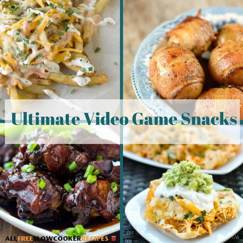 10 Ultimate Video Game Snacks