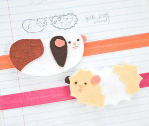 Guinea Pig DIY Elastic Book Band