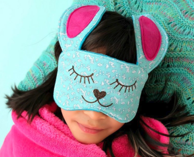 Bunny Die Cut DIY Sleeping Mask
