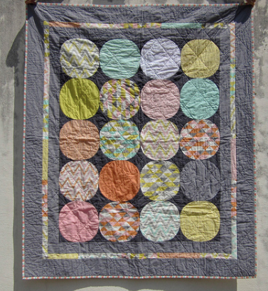 Mix and Match Circle Quilt Pattern