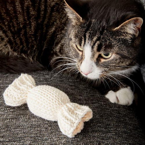 Toy Mouse for Cats Free Amigurumi Pattern - Daisy and Storm | 500x500