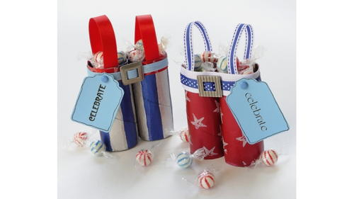 Cheap Patriotic 4th of July Party Favors Made with Recycled Material